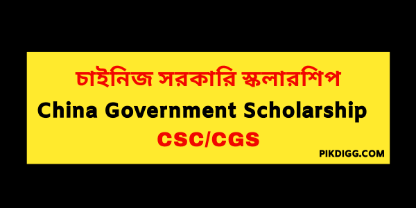 Chinese Government Scholarship (CSC)